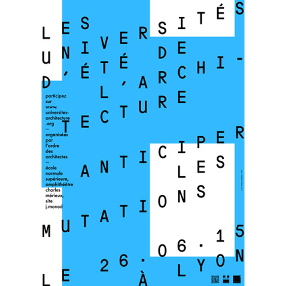 Les Universités d'été de l'architecture : Anticiper les Mutations